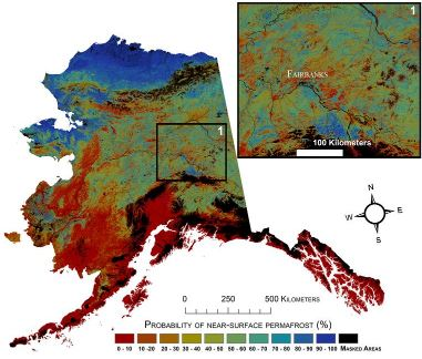 Mapping Permafrost in Alaska