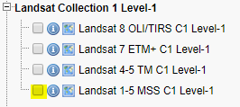 Landsat MSS Collection 1 Data Now Available