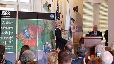 Landsat Science Team Leader Named Pecora Award Recipient