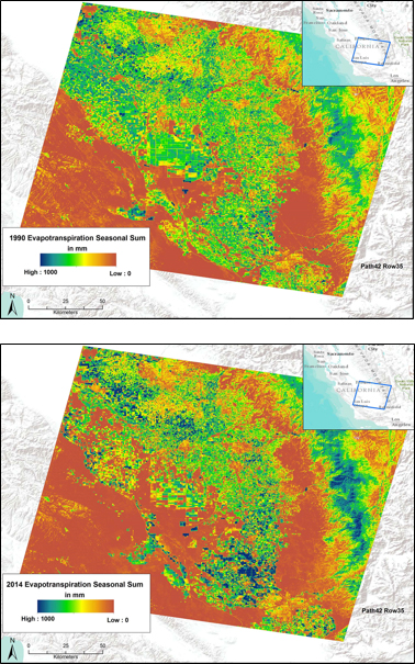 Landsat Image of Interest - Landsat Reveals Water Use Dynamics in the San Joaquin Valley