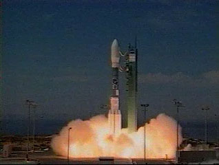 Launch of Landsat 7